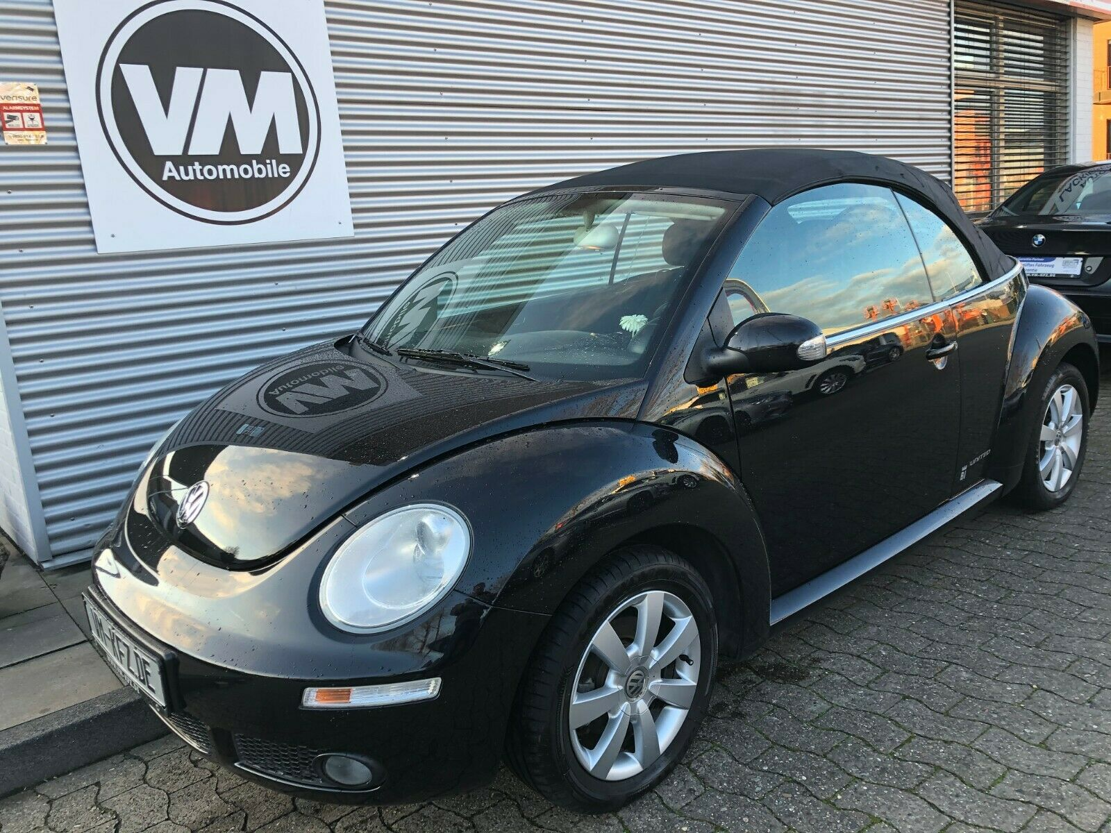 VW Beetle Cabriolet 1.6 United Klima Sitzh.Alu R-CD