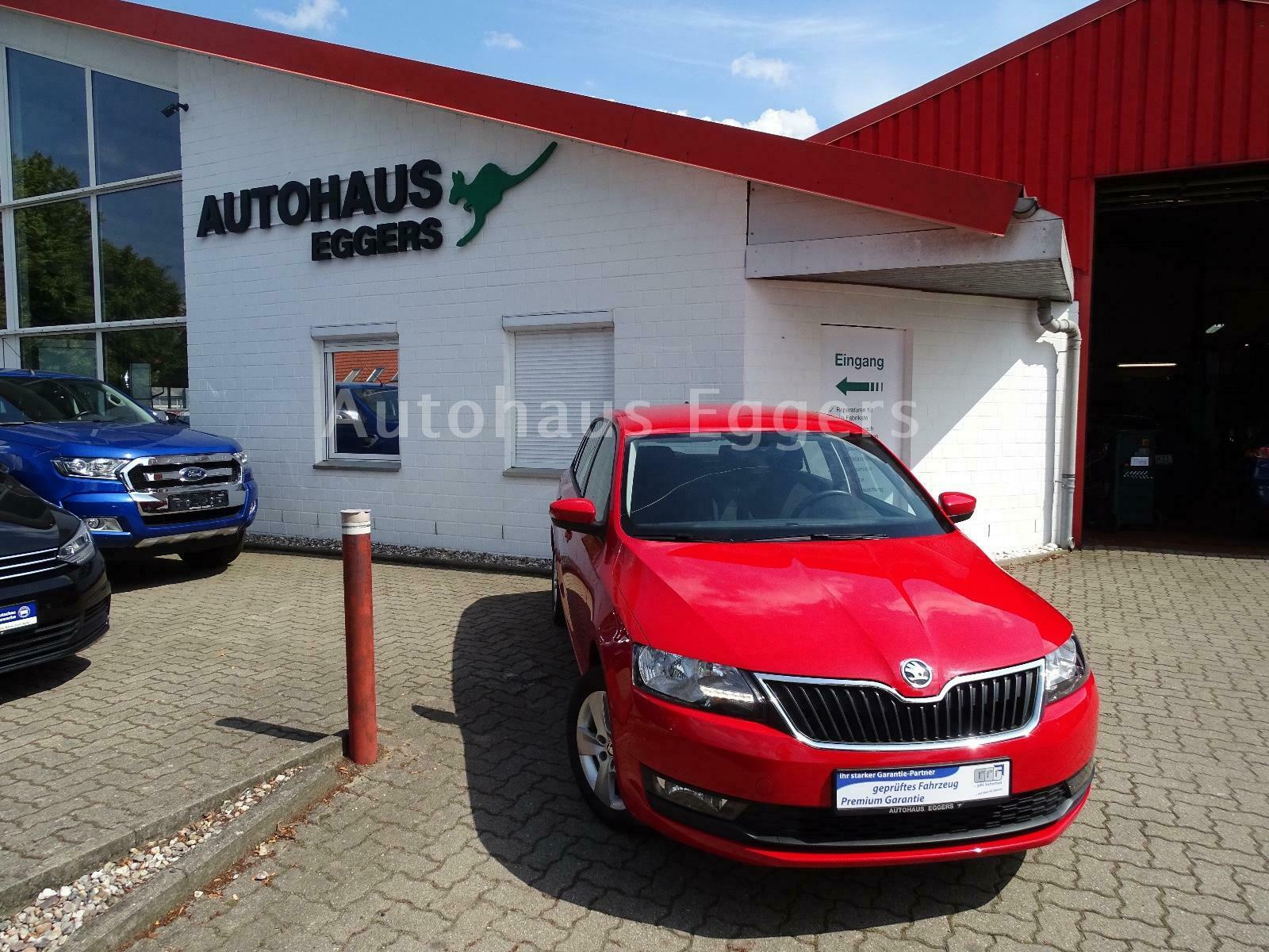 SKODA Rapid 1.0TSI SpaceBack Ambition/EURO6/TEMP/SHZ
