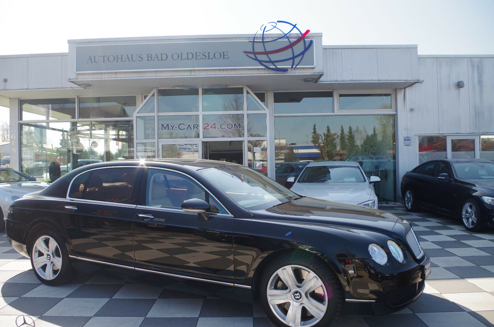 Bentley Flying Spur Mullinerbentley Service R Kamera Deine