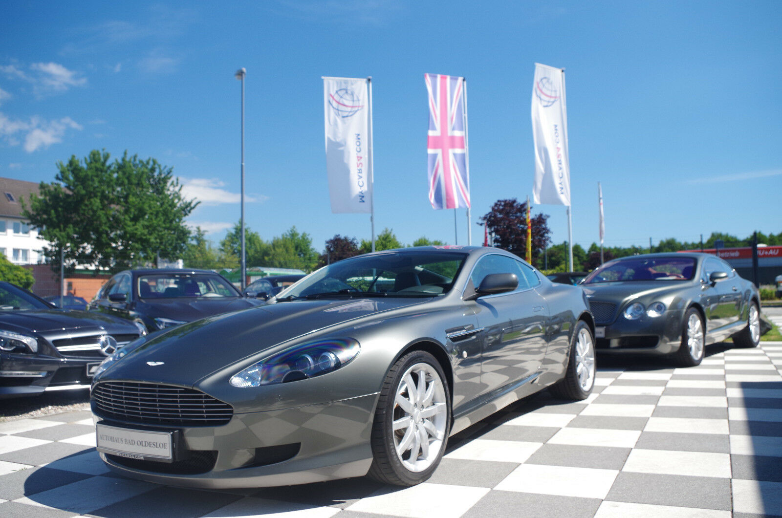 ASTON MARTIN DB9 Coupe Touchtronic BRD Fzg. Service