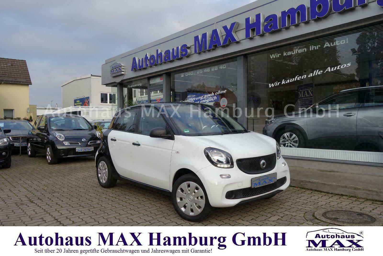 SMART forfour 1.0 Cool&Audio-Paket 1-Hand
