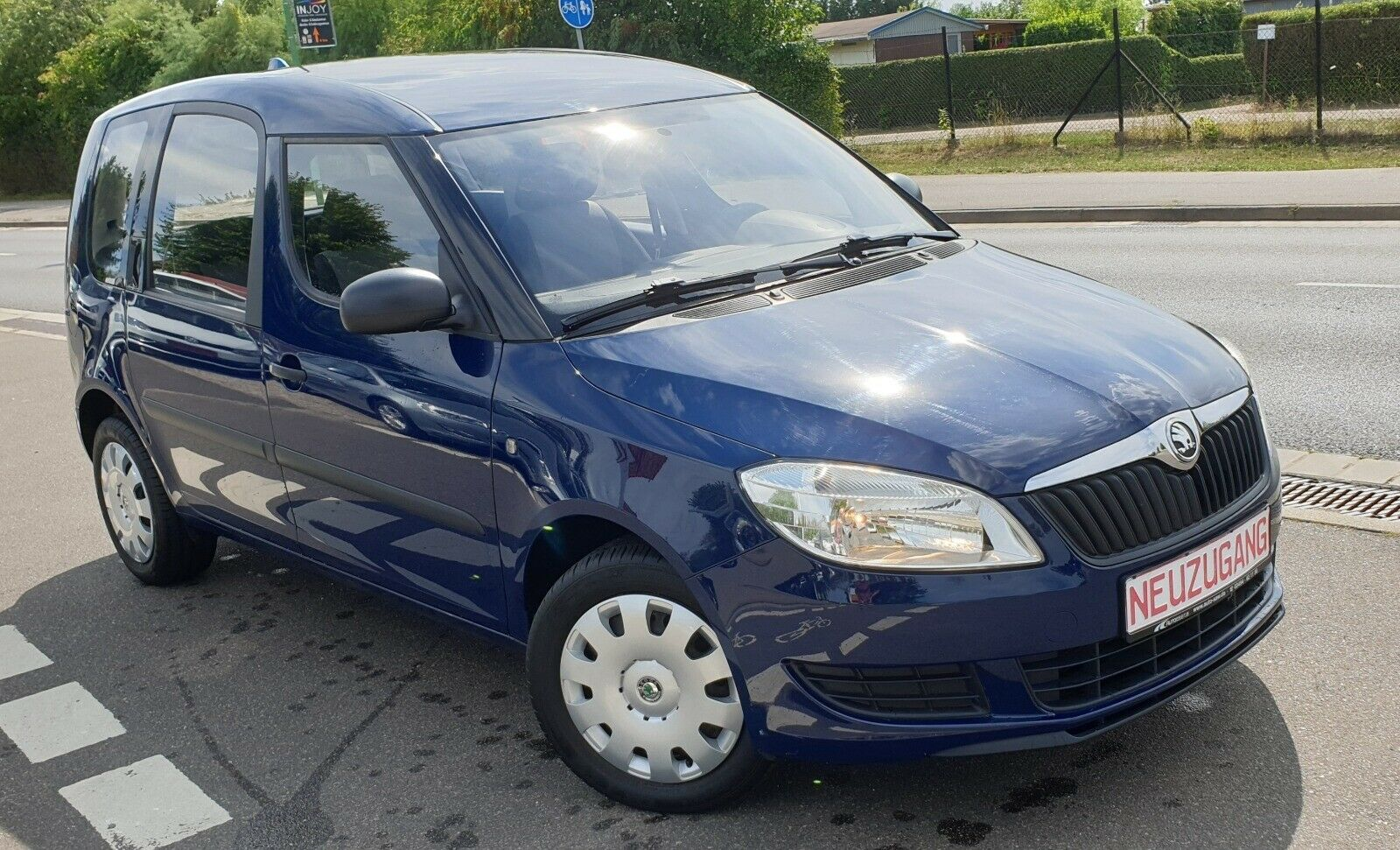 SKODA ROOMSTER ACTIVE PLUS EDITION 1.Hand 35tkm