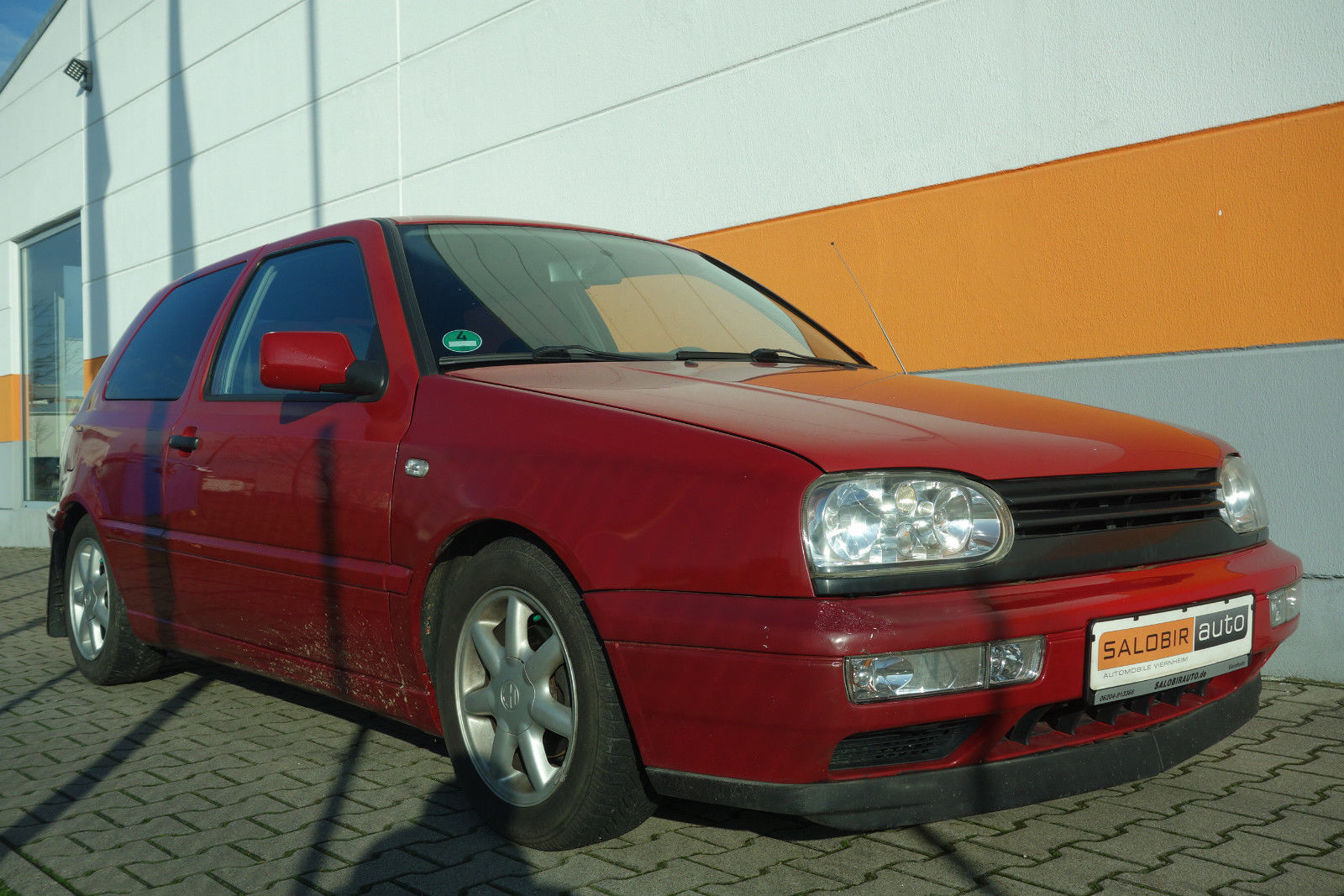 VW Golf III 1.8 Klima el. FH el. AS Tiefer SportESD