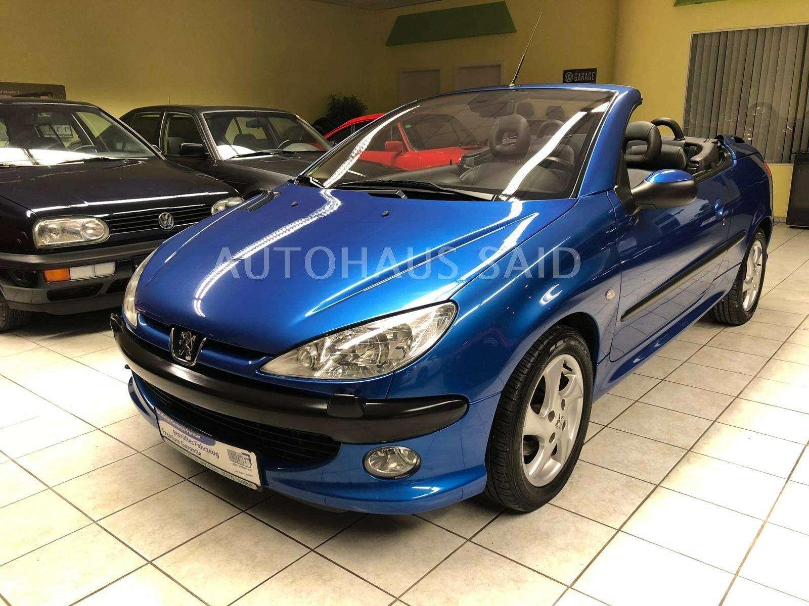 peugeot 206 cabriolet cc platinum 63tkm deine autob rse. Black Bedroom Furniture Sets. Home Design Ideas