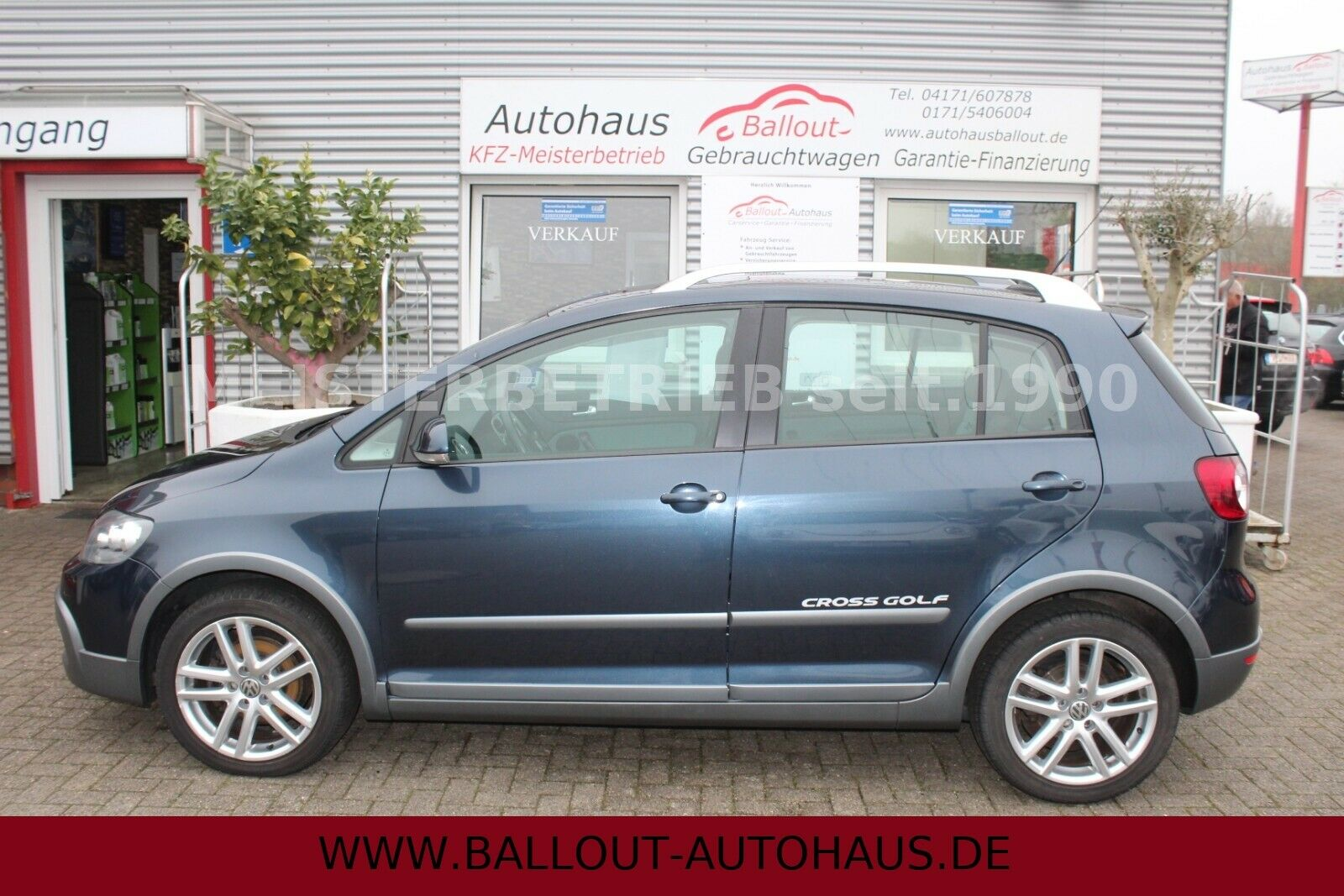 VW Golf 1,4l V Plus Cross*EURO 4*3.HAND*NAVI*6.GANG