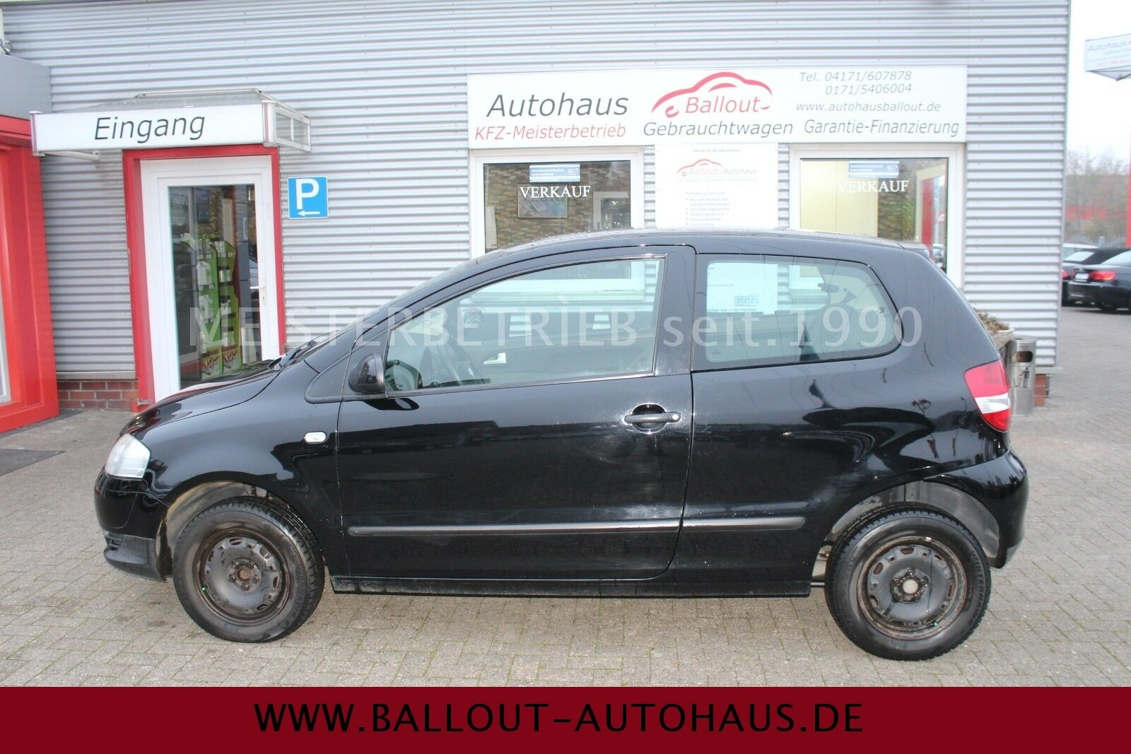 VW Fox Basis*2.HAND*KLIMA*SERVO*EURO 4*TÜV 06-2020