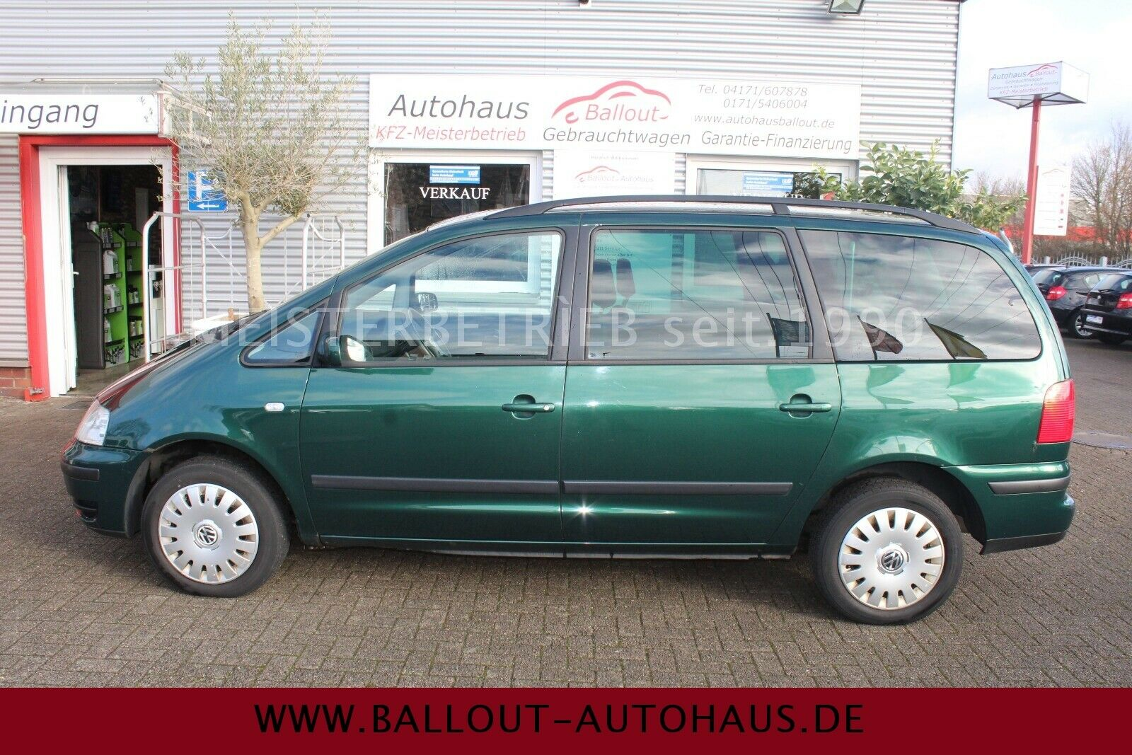 VW Sharan 1,9 TDI  Family*2.HAND*KLIMATR*6.GANG*AHK