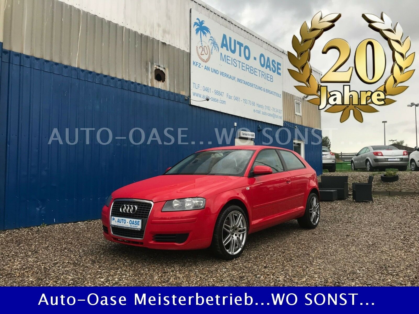 AUDI A3 1.9 TDI Attraction**8 Fach**