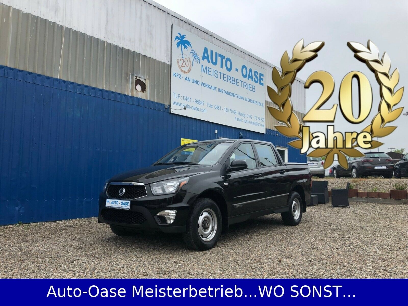 SSANGYONG Actyon Sports 4WD**Allrad**Klima**