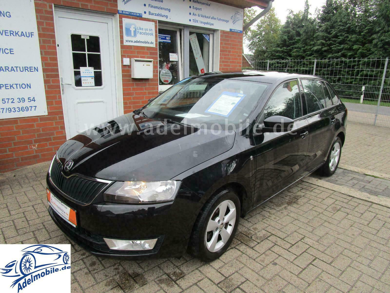 SKODA Rapid Spaceback Ambition 1,6TDI Euro5 TÜV07/2021